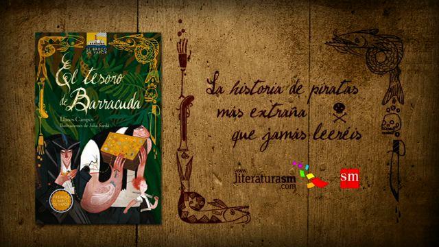 BARCO DE VAPOR BOOK TRAILER,  ED. SM